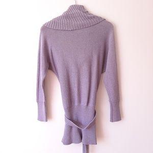 Moda International Sweaters - Moda International Lavender Cowl Neck Sweater